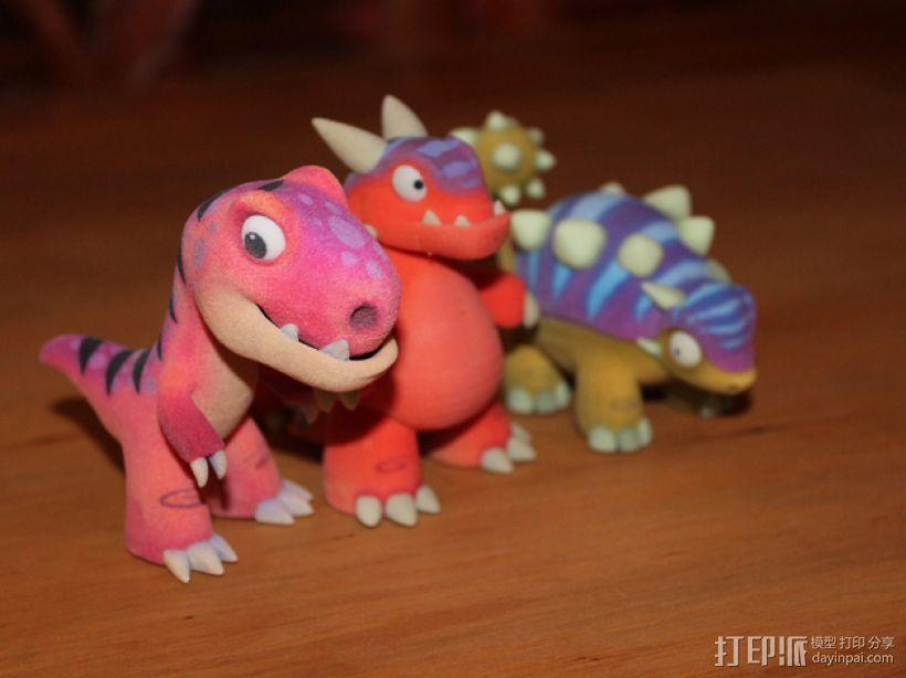 可爱的小恐龙 3D模型  图3