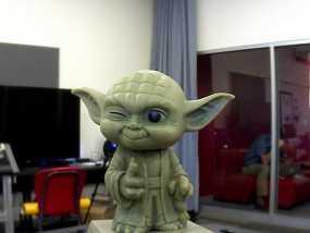 尤达大师 3D模型