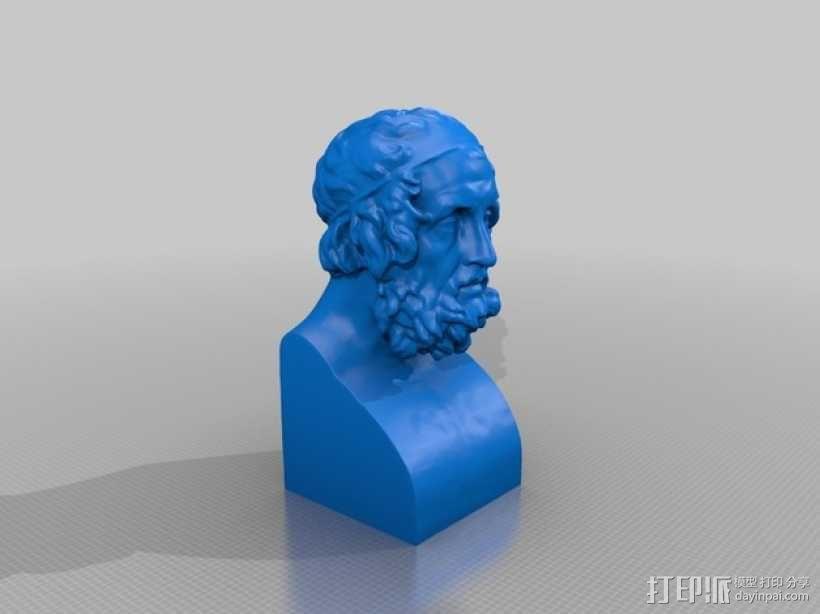 荷马 3D模型  图4