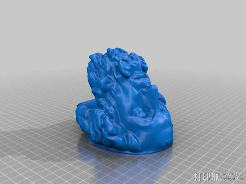荷马 3D模型  图5