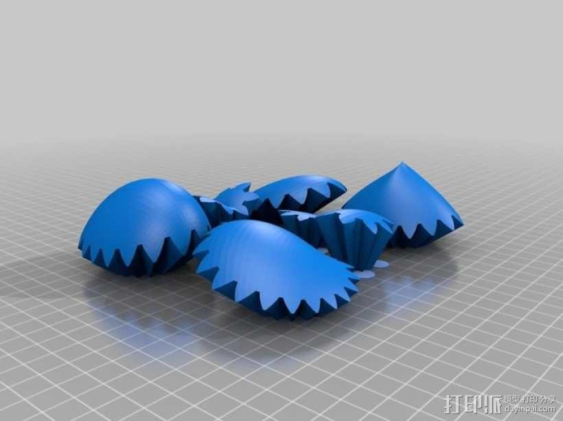 PLA 心形齿轮 3D模型  图7