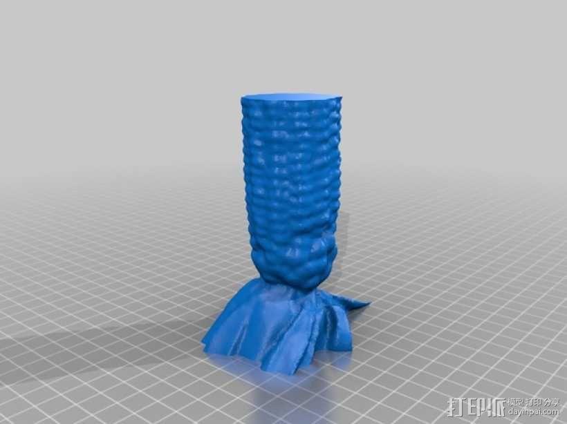 玉米型容器 3D模型  图3