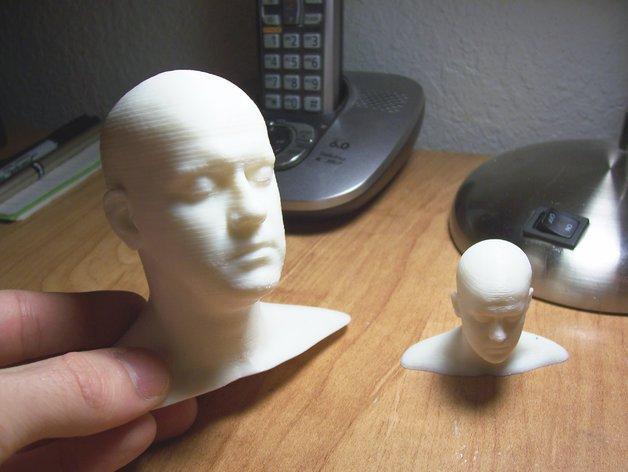 3D头像 3D模型  图3