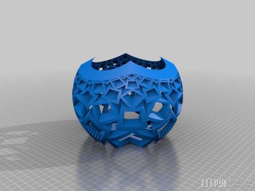 定制立体投影平面 3D模型  图2