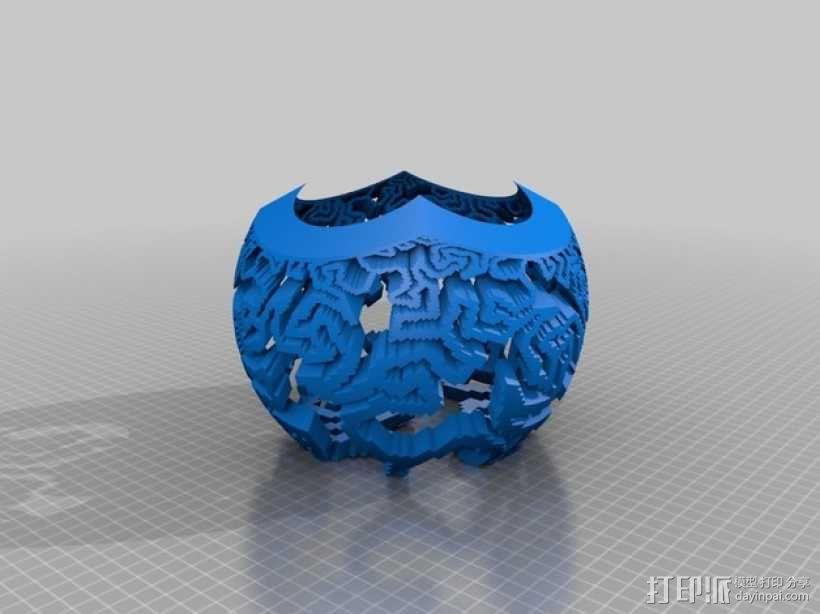 定制立体投影平面 3D模型  图4
