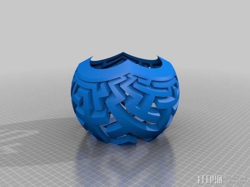 定制立体投影平面 3D模型  图8