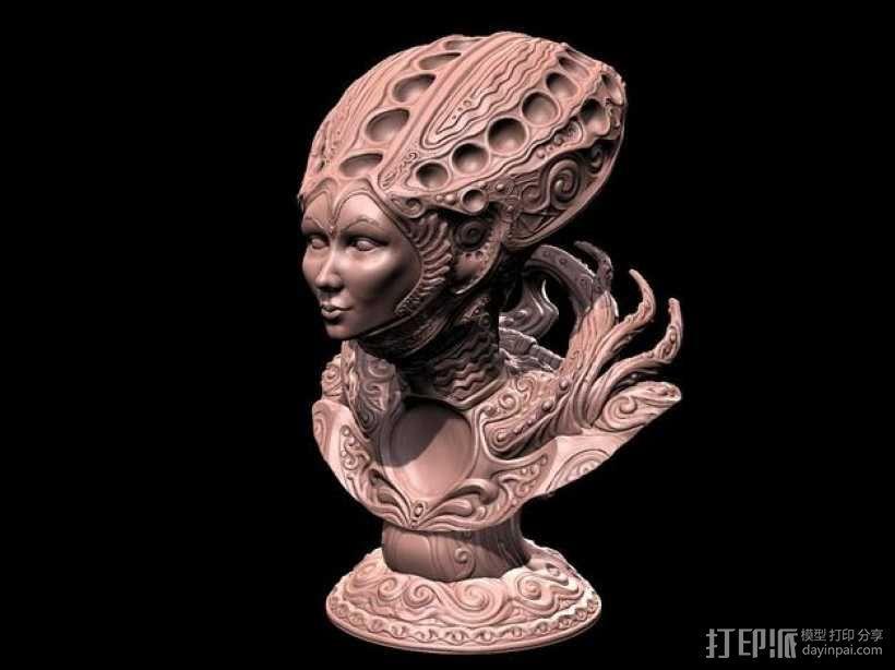沙丘女王 3D模型  图1