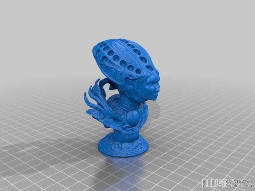 沙丘女王 3D模型  图2