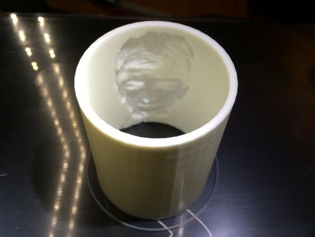 荧光杯 3D模型  图2