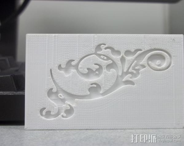 参数化印刷版模具 3D模型  图6