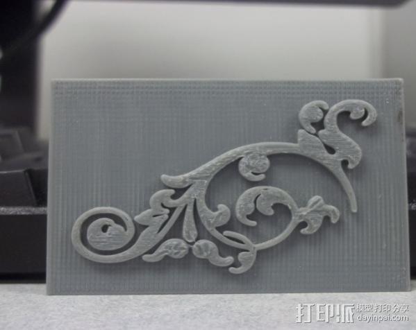参数化印刷版模具 3D模型  图5
