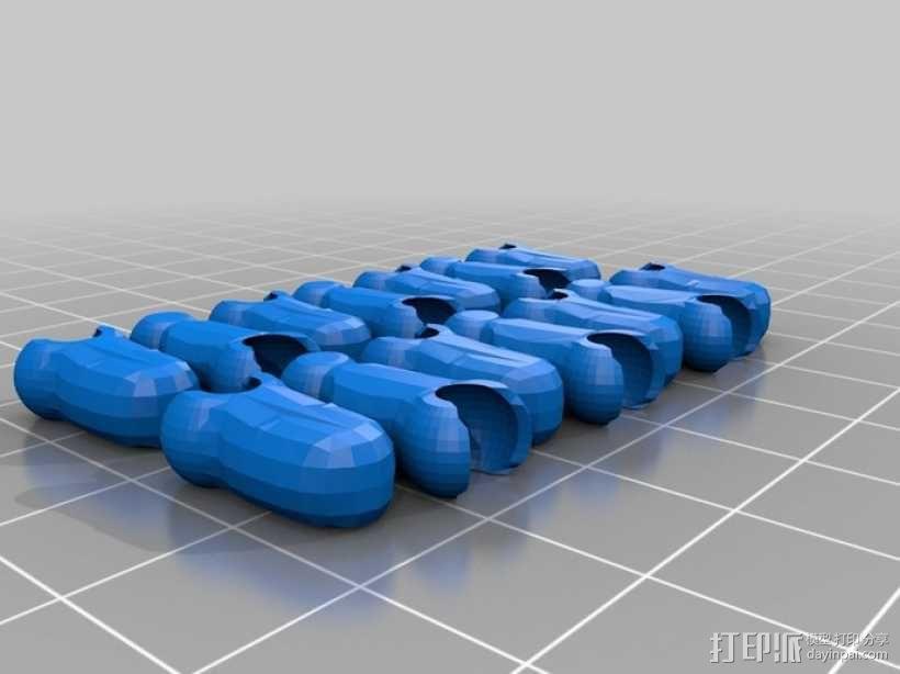 Mark II - sNi 模子 3D模型  图13