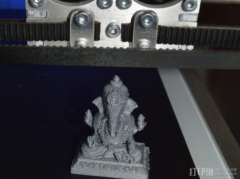 蛙神雕塑模型 3D模型  图1