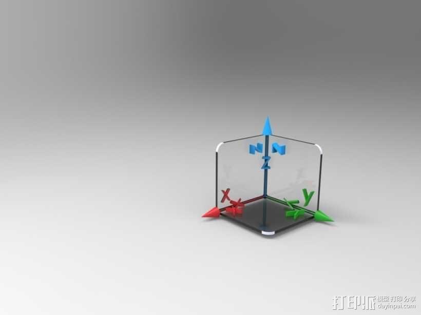 3D坐标轴  3D模型  图6