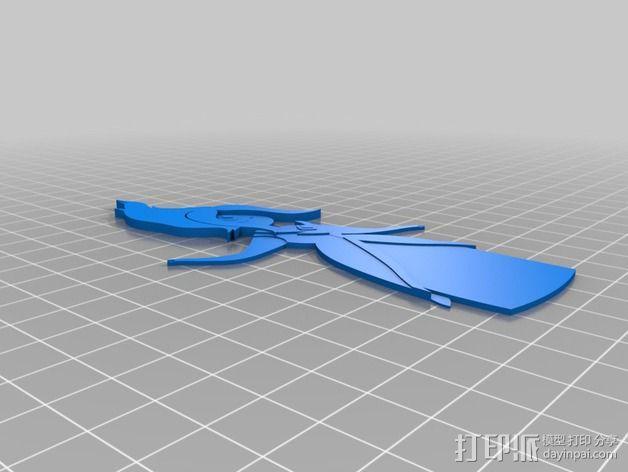 火焰公主 3D模型  图3