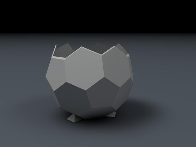 球形罐 3D模型  图2