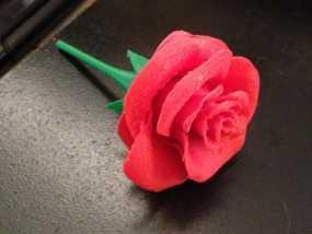 玫瑰花 3D模型