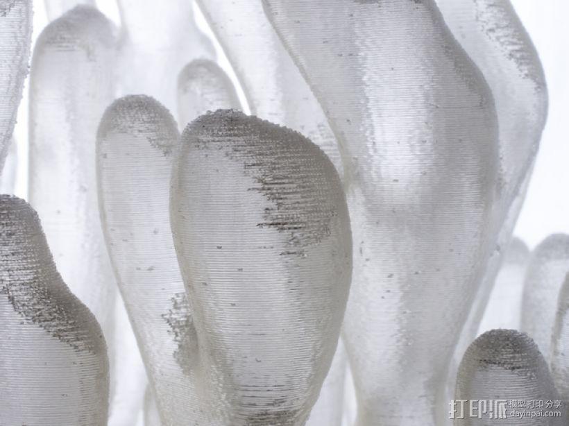 树枝形水晶 3D模型  图3