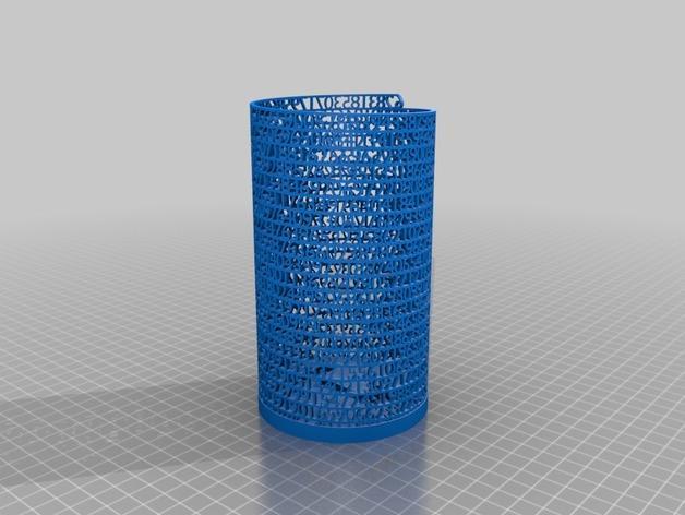 数字笔筒 3D模型  图2
