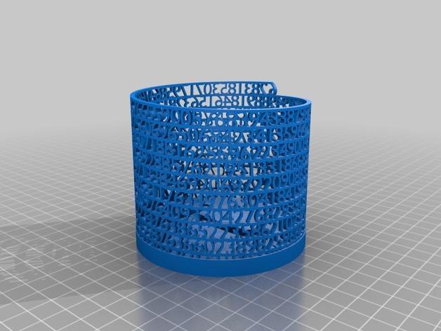 数字笔筒 3D模型  图3