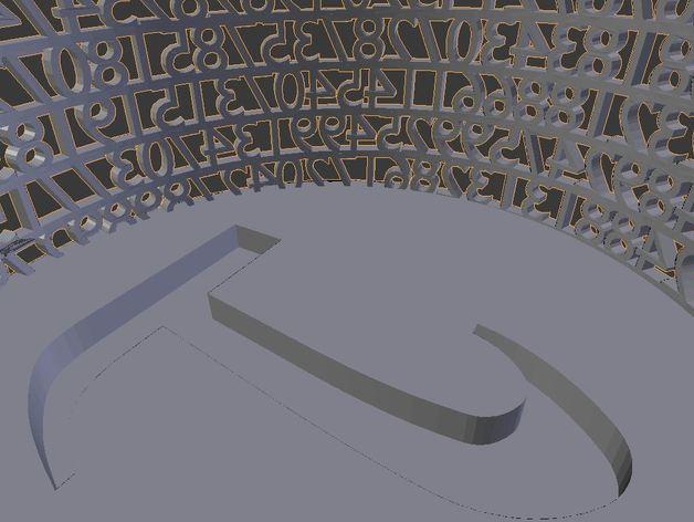 数字笔筒 3D模型  图5