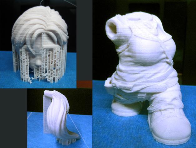 女杀手Lara小雕像 3D模型  图4