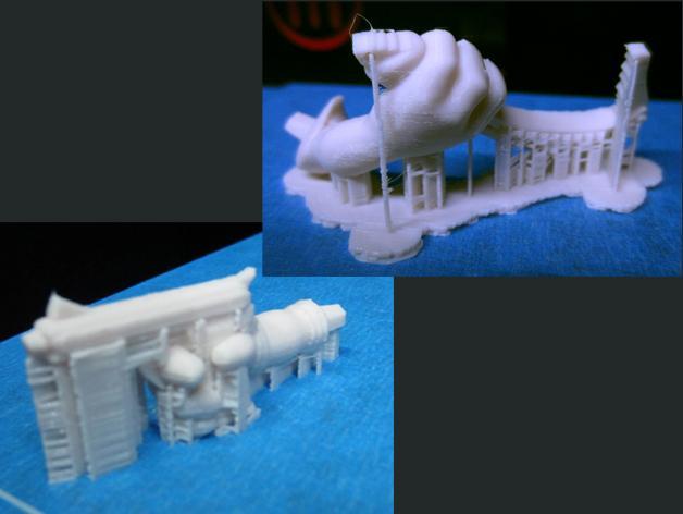 女杀手Lara小雕像 3D模型  图5