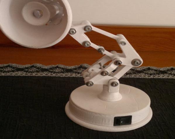 迷你可折叠小台灯 3D模型  图4