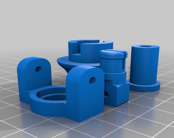 迷你可折叠小台灯 3D模型  图9