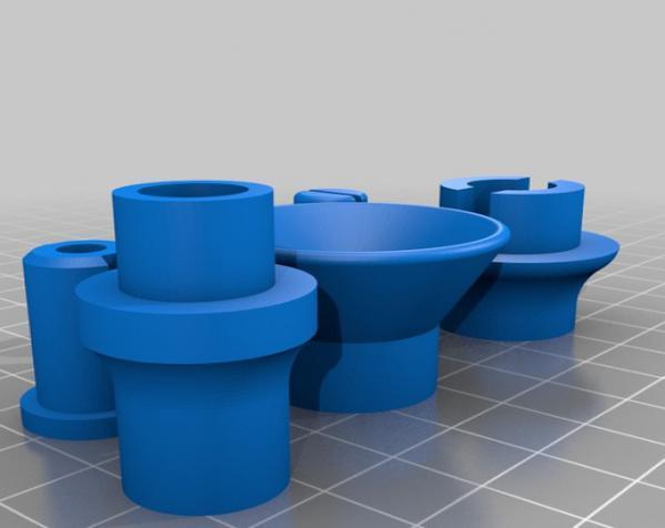 迷你可折叠小台灯 3D模型  图14