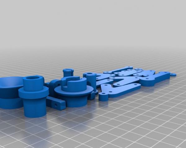 迷你可折叠小台灯 3D模型  图24