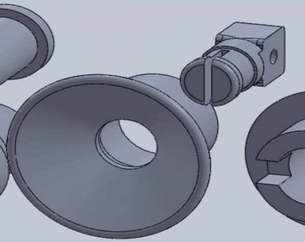 迷你可折叠小台灯 3D模型  图35