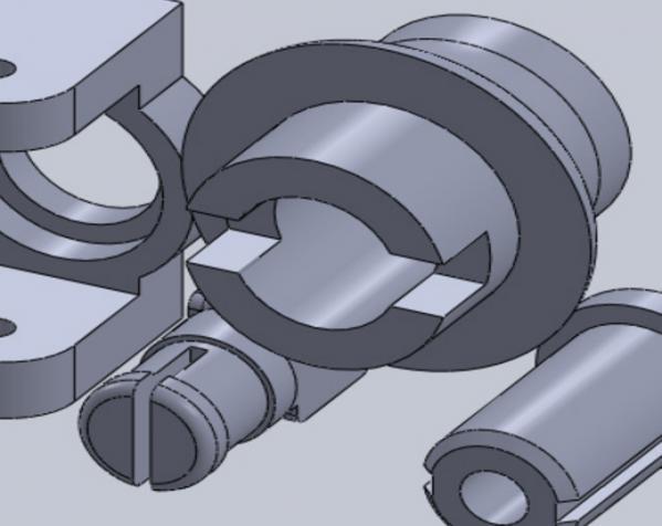 迷你可折叠小台灯 3D模型  图34