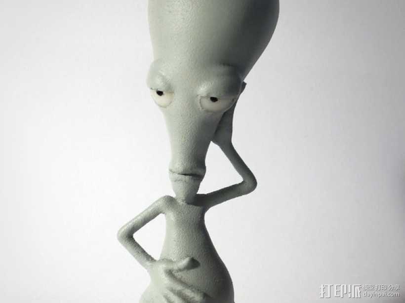 外星人 模型 3D模型  图1