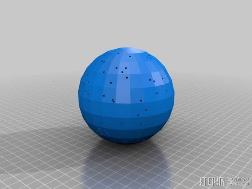 宇宙天体模型 3D模型  图1