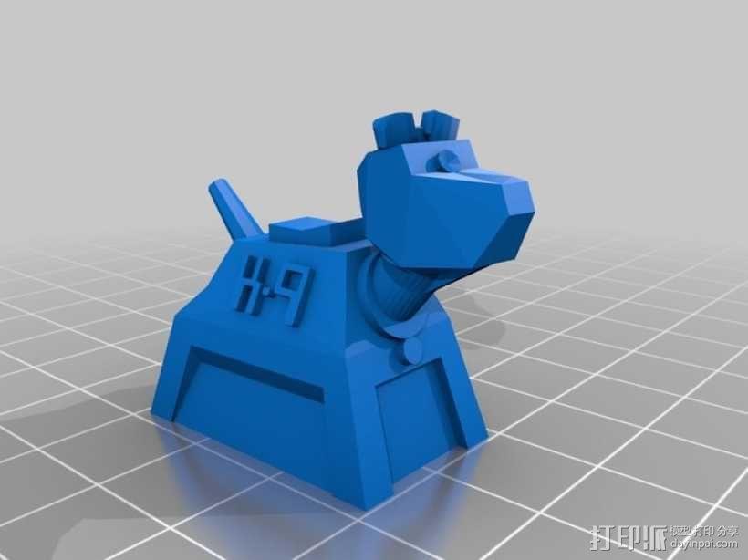 山丘之王K9 模型 3D模型  图1