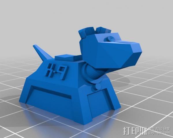 山丘之王K9 模型 3D模型  图3