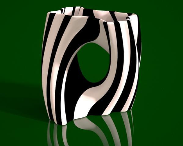 Julia 花瓶 3D模型  图2