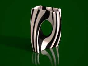 Julia 花瓶 3D模型