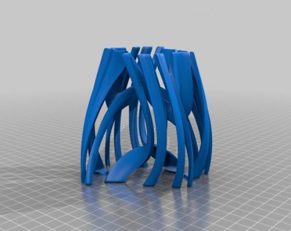 Julia 花瓶 3D模型  图4