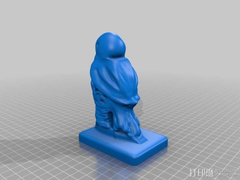 蓝鸟 模型 3D模型  图2