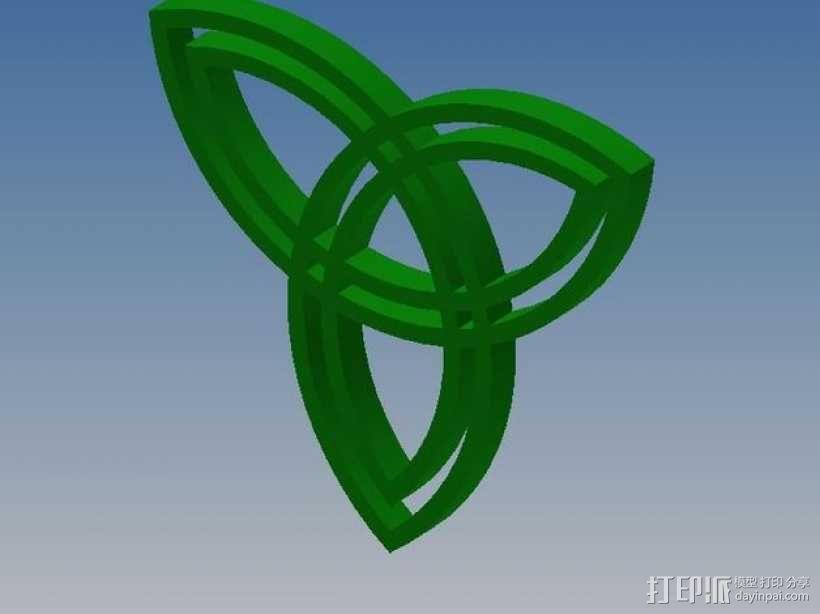 凯尔特结 3D模型  图1