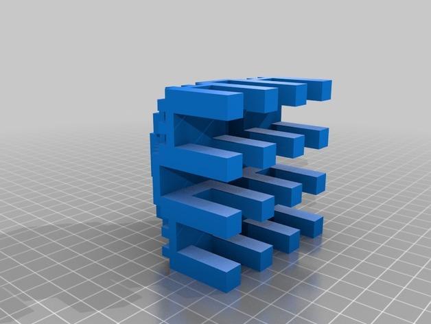 寺庙 模型 3D模型  图2