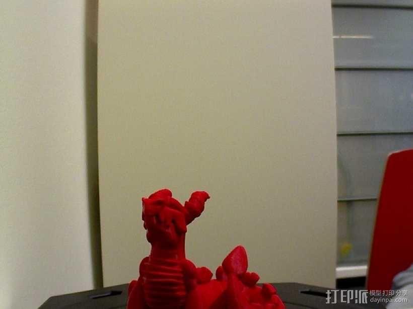 喷火龙 模型 3D模型  图1
