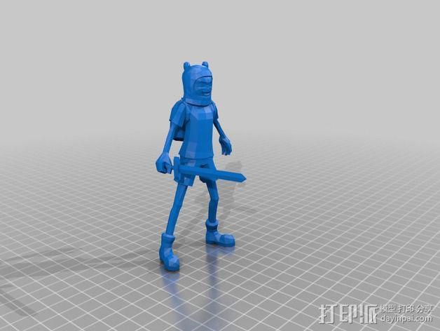 Finn人物模型 3D模型  图2