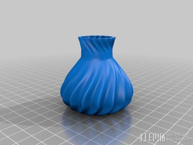 参数化波纹花瓶  3D模型  图6