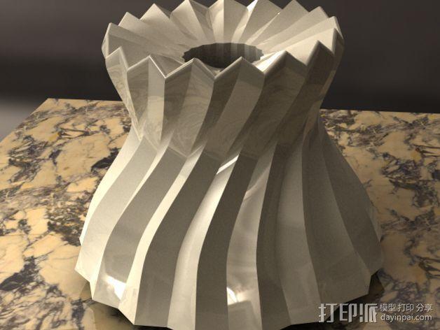 参数化波纹花瓶  3D模型  图7