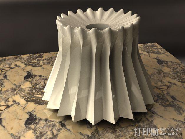 参数化波纹花瓶  3D模型  图9
