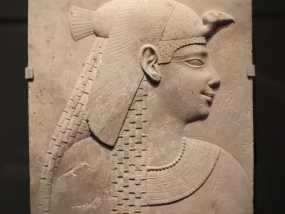 埃及公主浮雕模型 3D模型