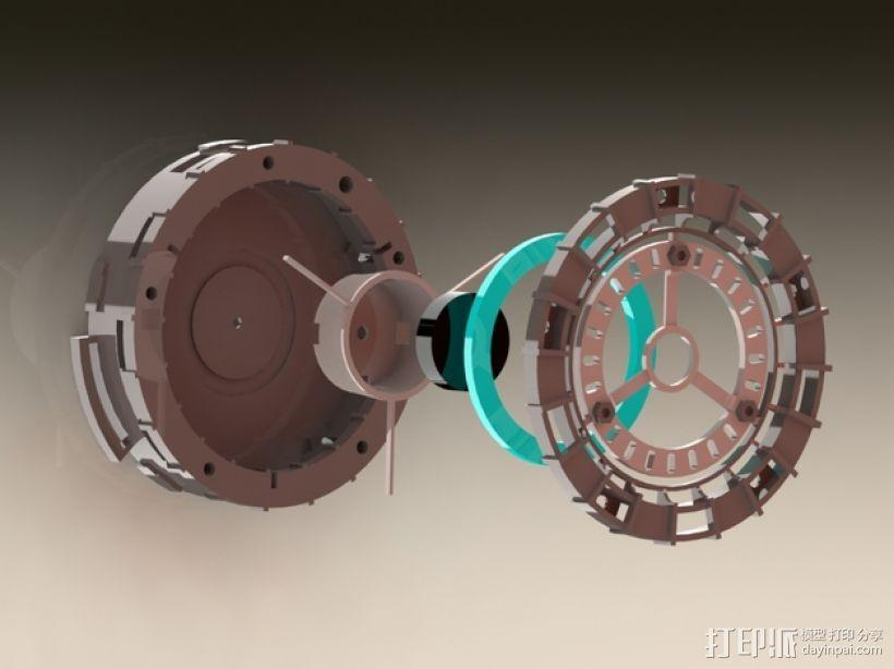 能量环 3D模型  图1